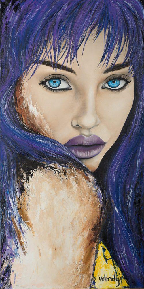 Wendys Art Original Art Pianting Illusion