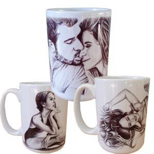 Sketched Art Mugs
