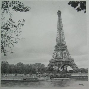 Eifel Tower Sketch