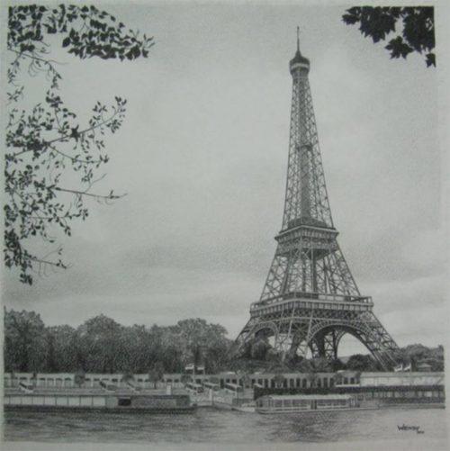Eifel Tower Sketch