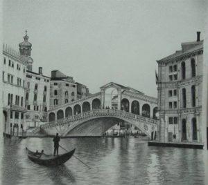 Venice Pencil Sketch
