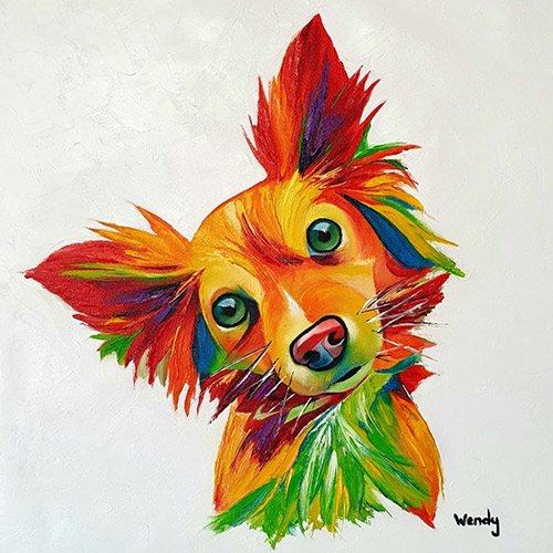 PaintBomb Dog